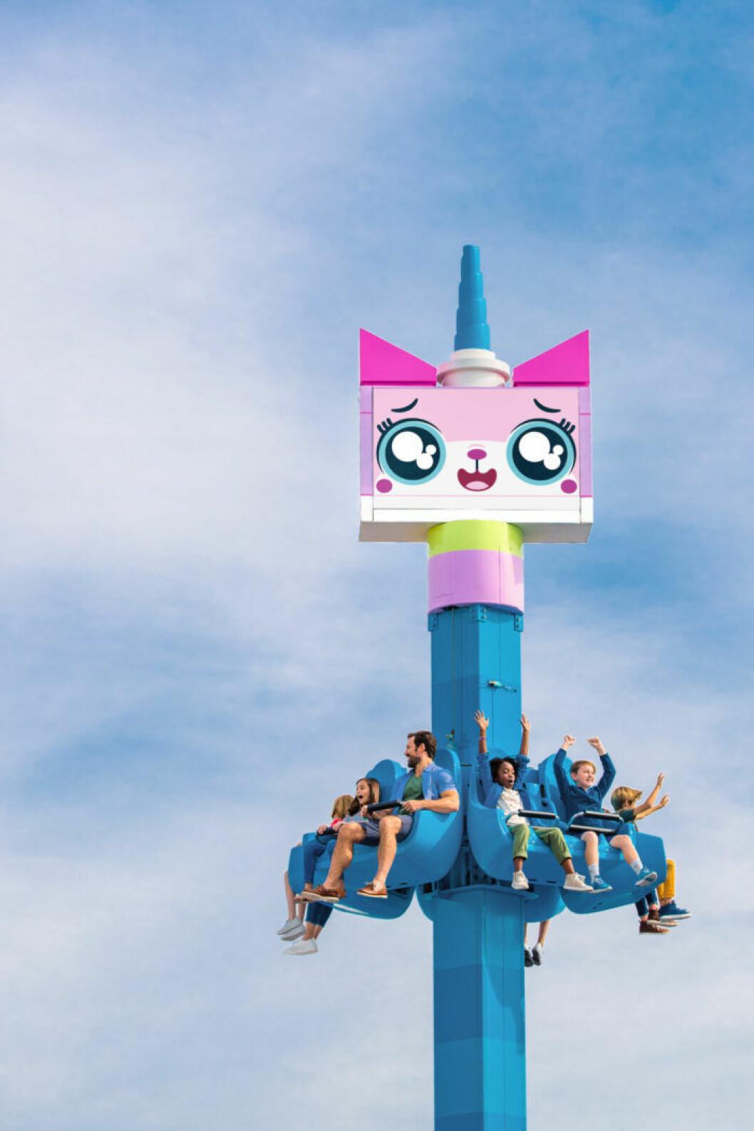 Den nya delen på Legoland öppnar den 28 mars.