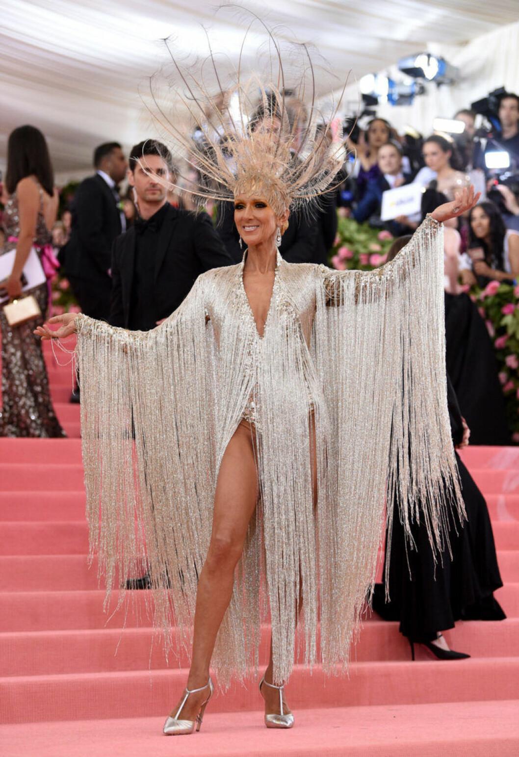 Celine Dion på röda mattan