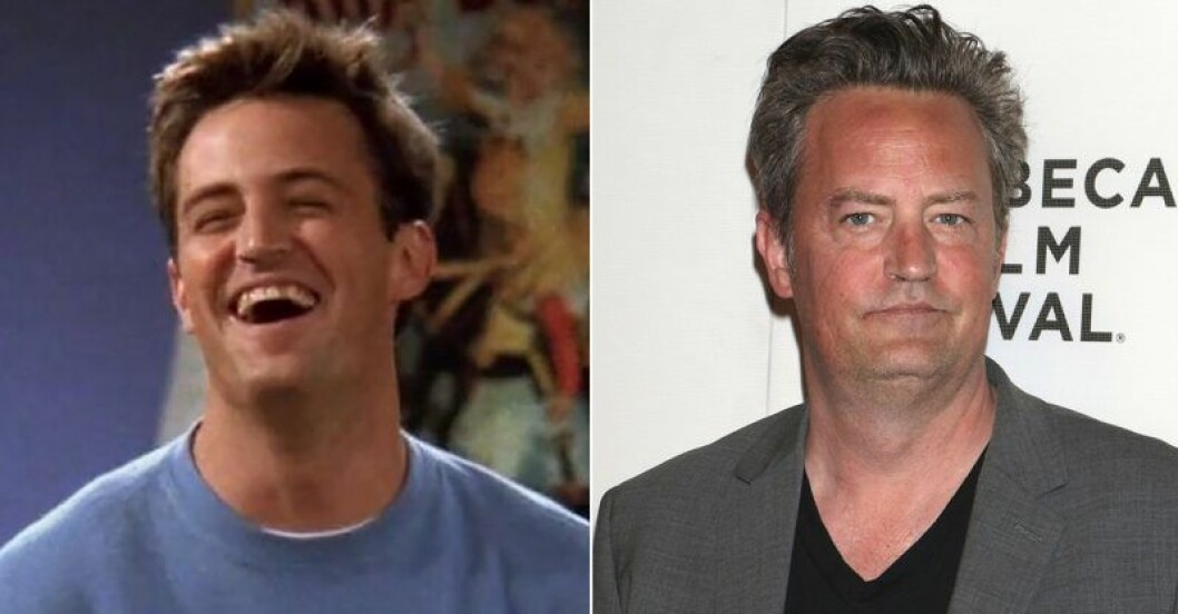 Chandler Bing vs Matthew Perry i Vänner