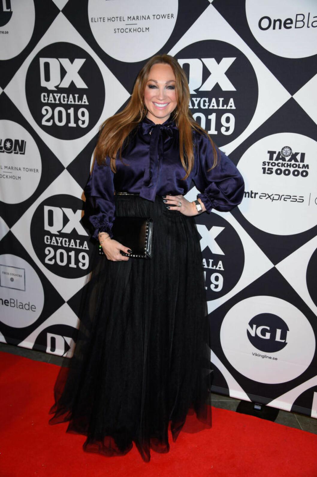Charlotte Perrelli på QX-galan 2019