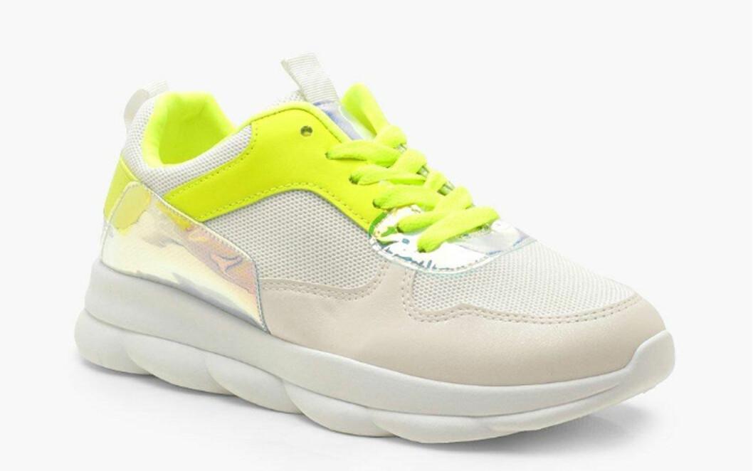 Chunky sneakers från Boohoo