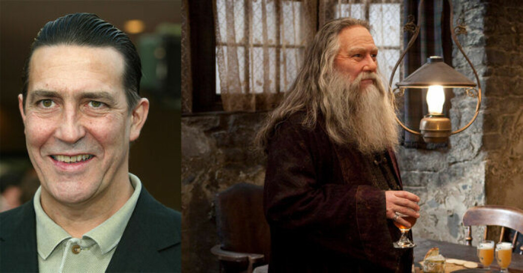 Ciarán Hinds i Harry Potter