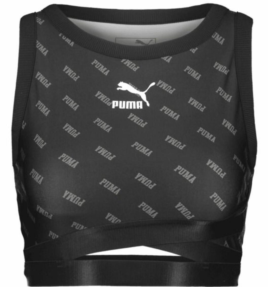 Croppad topp från Puma