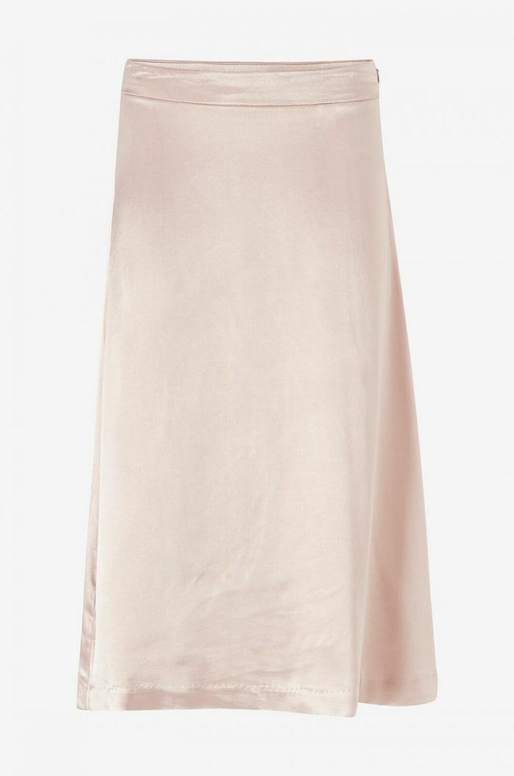 Puderrosa kjol