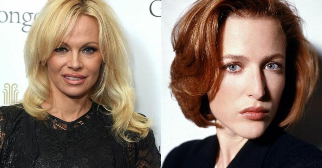 Pamela Anderson – Dana Scully i The X-Files