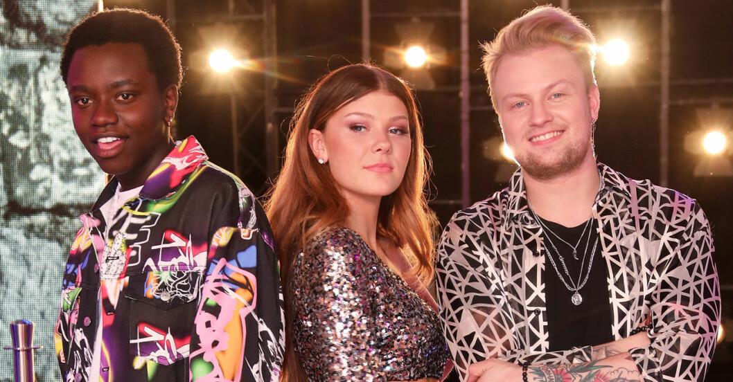 Freddie, Tusse och Dao i Idol 2019