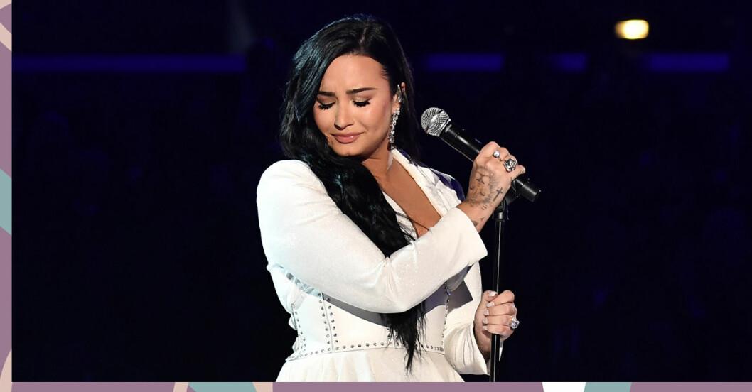 Demi Lovato på Grammys
