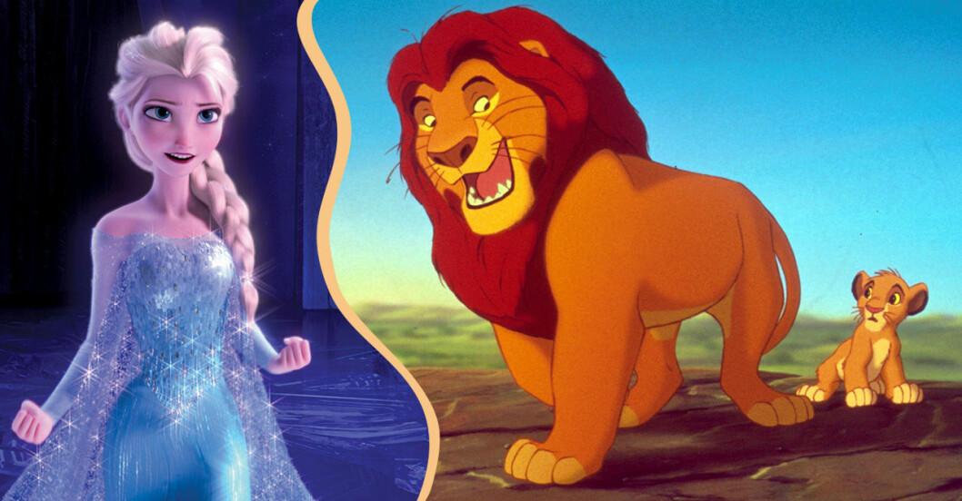 Frost och Lejonkungen