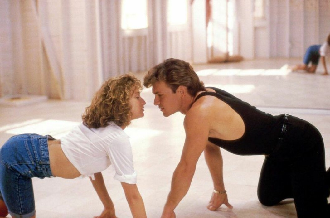 Swayze och Grey i Dirty Dancing