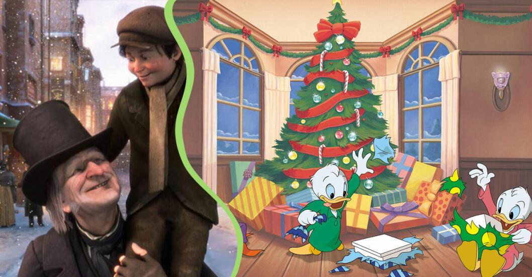 En julsaga och knattarna firar jul