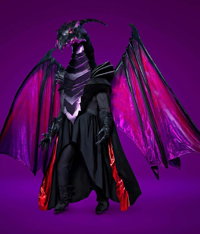 Draken i Masked Singer 2021