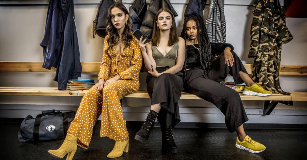 Eagles Felicia, Aime och Klara
