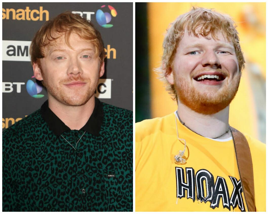 Lika som bär: Ed Sheeran Rupert Grint
