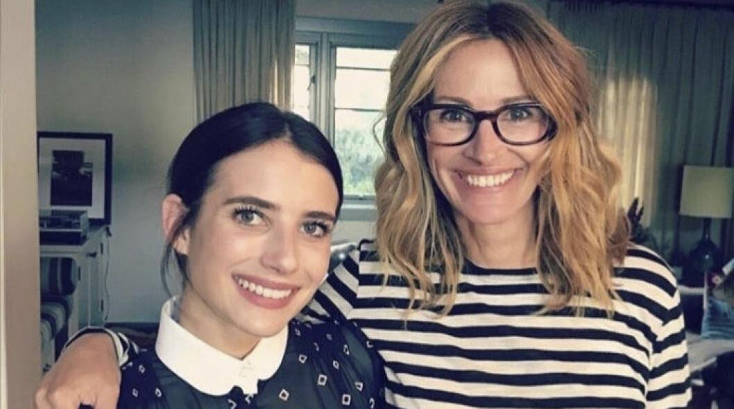Emma och Julia Roberts
