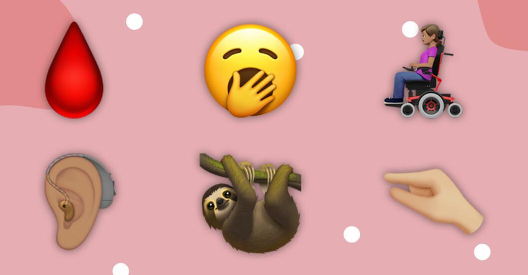 Nya emojisar