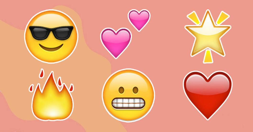 Emojis på snapchat
