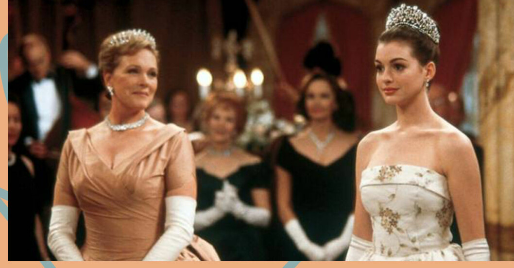 Julie Andrews och Anne Hathaway