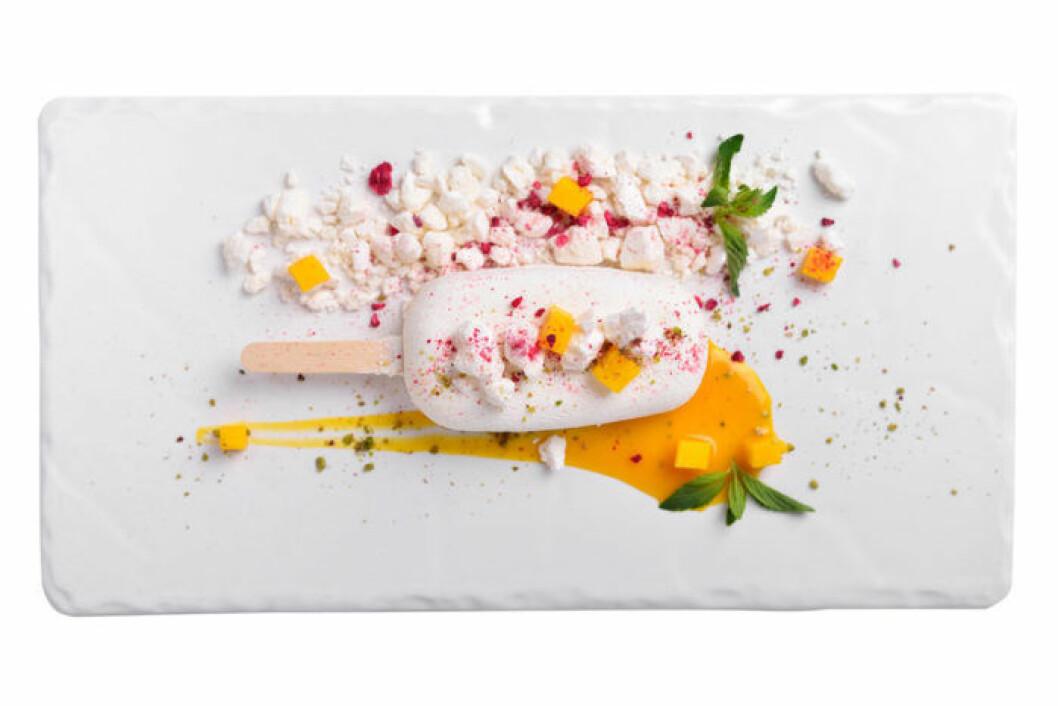 Hemmakära kräftan äter gärna exotiska desserter.
