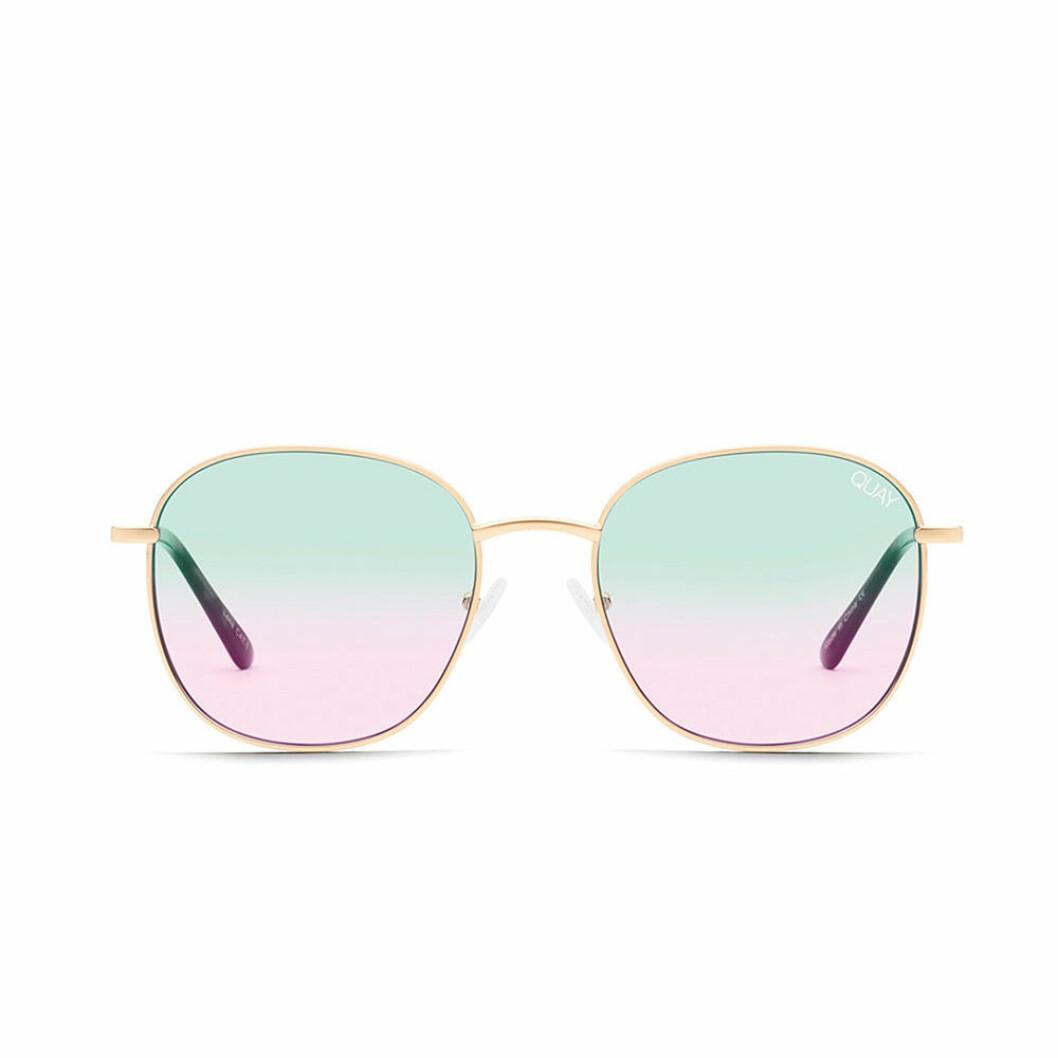 Färgade solglasögon