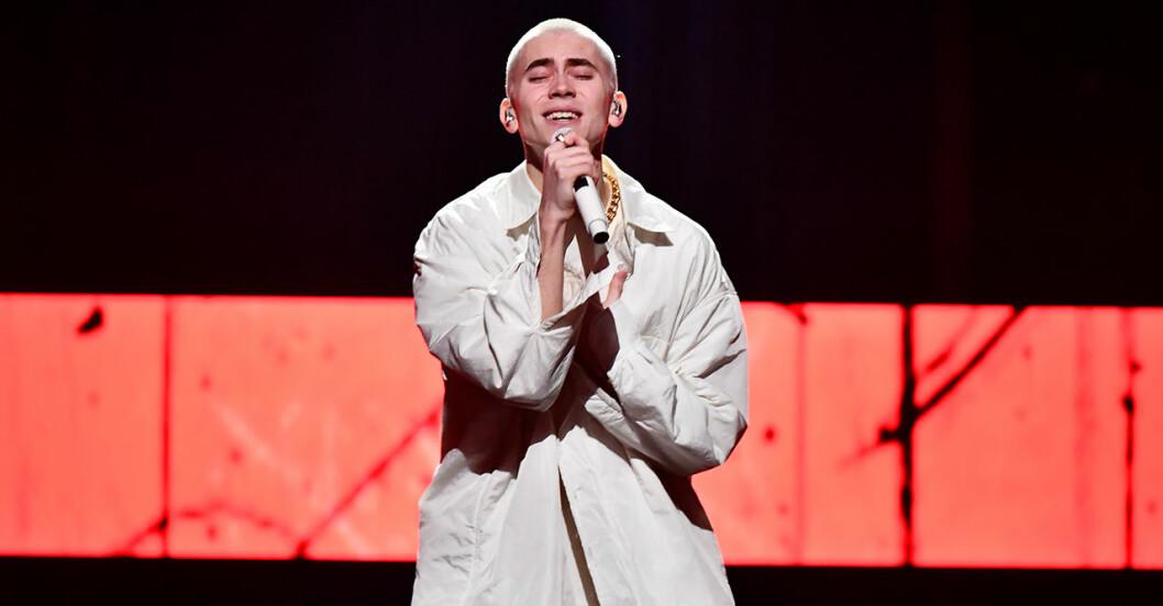 Felix Sandman är en av finalisterna i Melodifestivalen 2020
