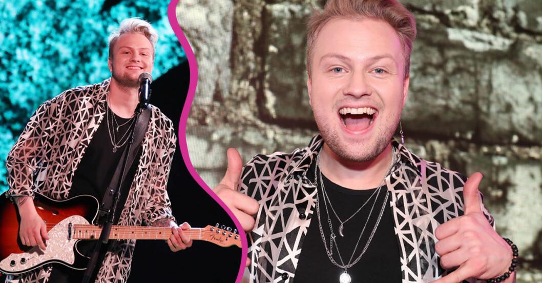 Freddie Liljegren Idol 2019