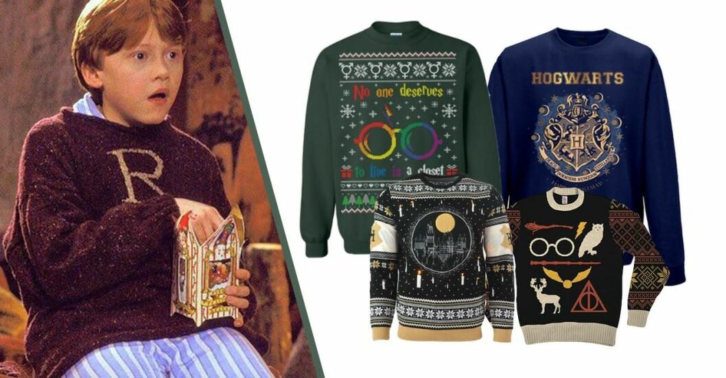 Jultröjor med Harry Potter motiv