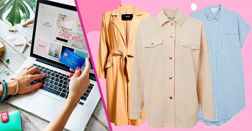 Bästa shoppingen online