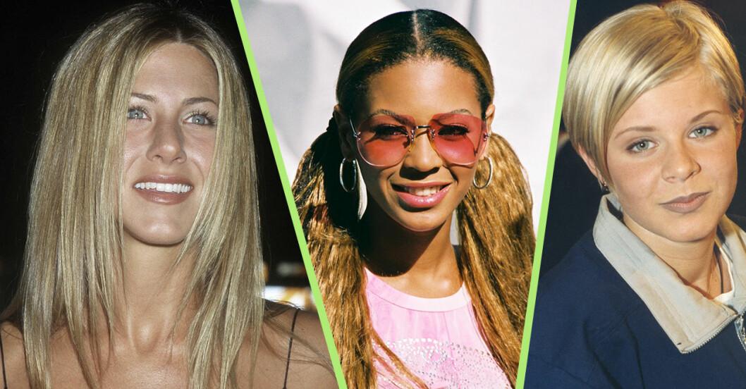 Jennifer Aniston, Beyonce och Robyn