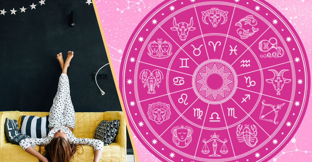 uttråkad tjej och zodiaken