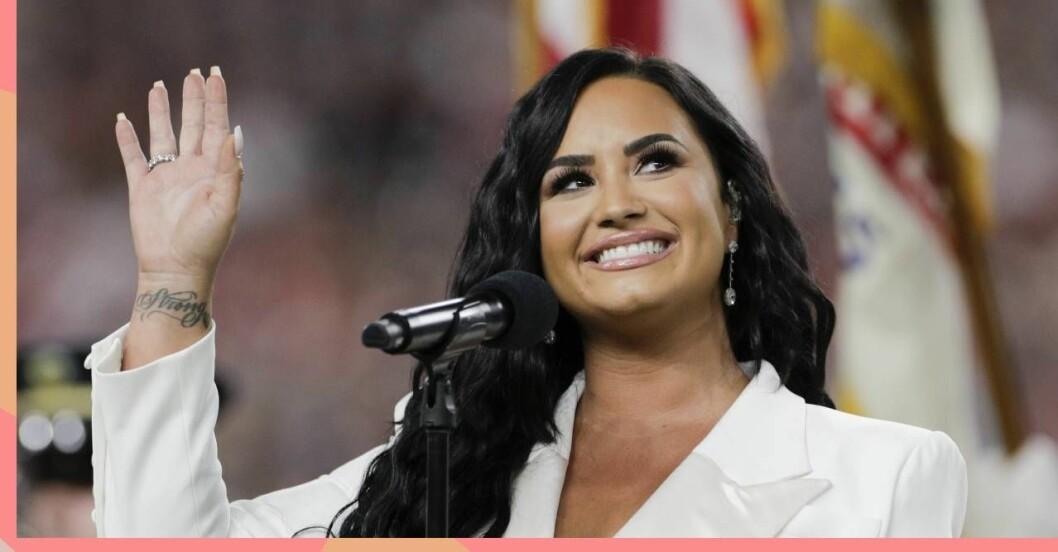 Demi Lovato på scen