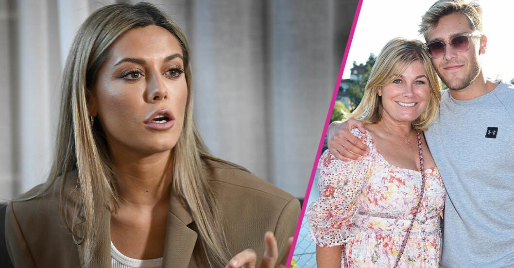 Bianca Ingrosso har en dipp, och när hon mår dåligt psykiskt orkar hon inte möta resten av familjen Wahlgren.