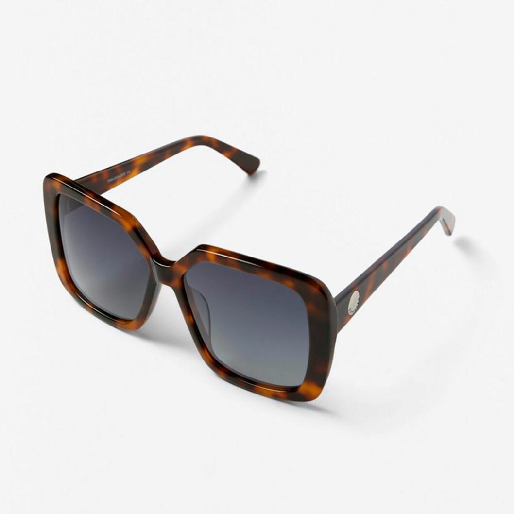 Fyrkantiga mönstrade solglasögon
