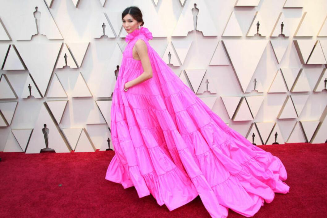 Gemma Chan på Oscarsgalan 2019