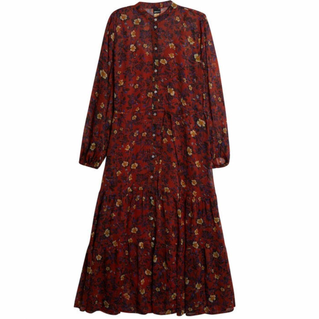 Gina tricot långklänning med mönster
