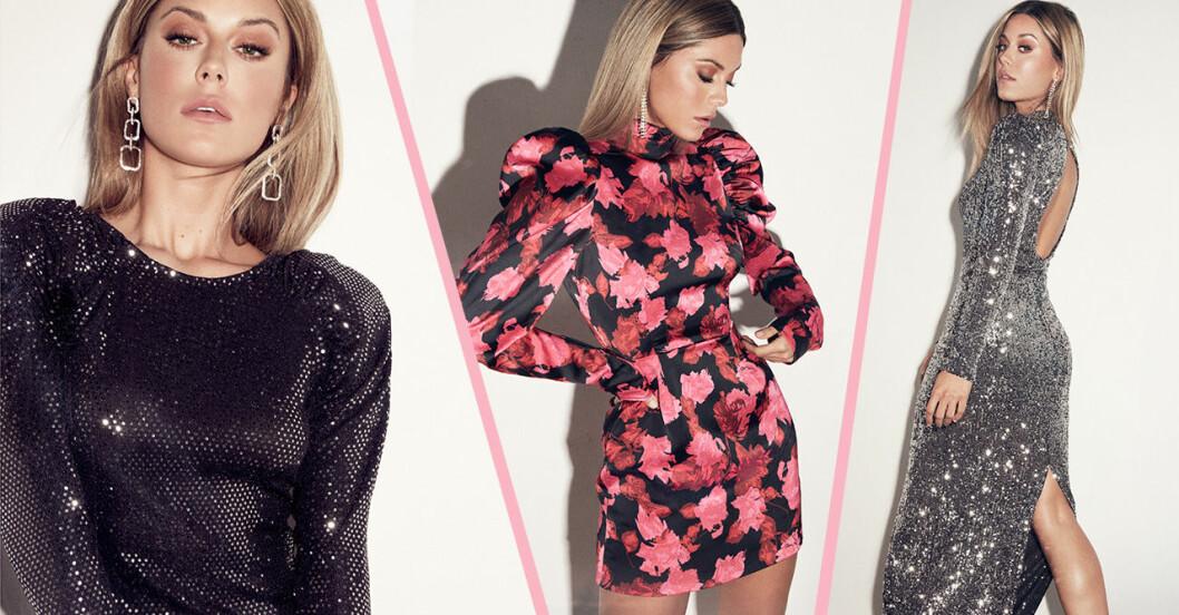 Bianca Ingrosso frontar Gina tricots festkollektion