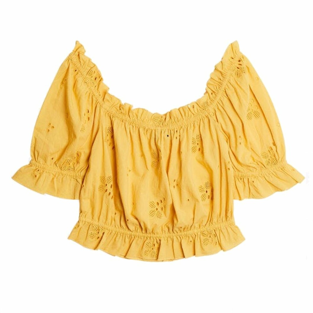 Gina tricot off shoulder-tope