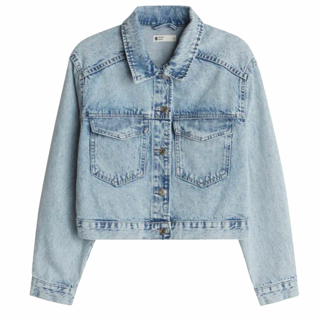 Gina tricot trucket jeans jacka