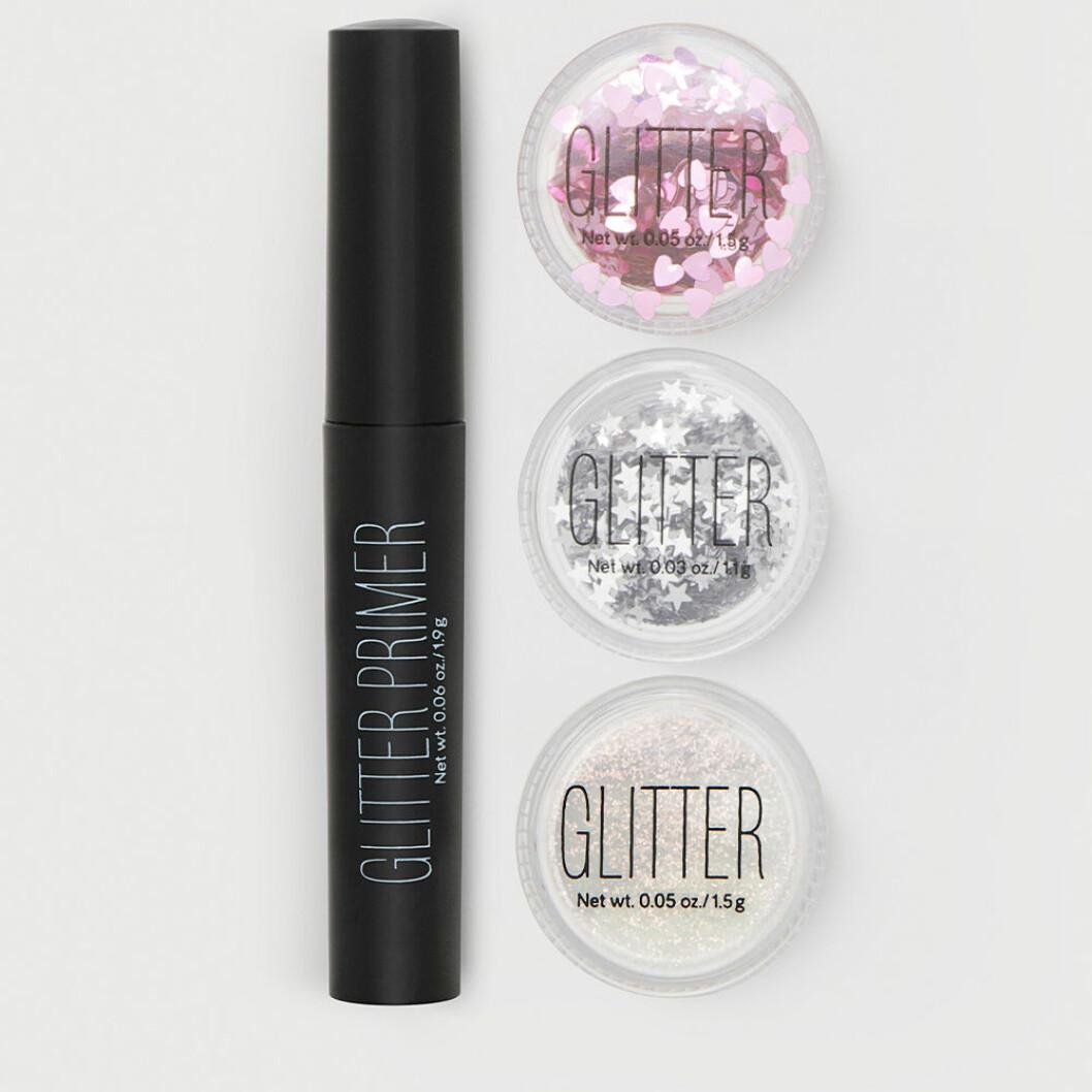 Kit med glitter och primer