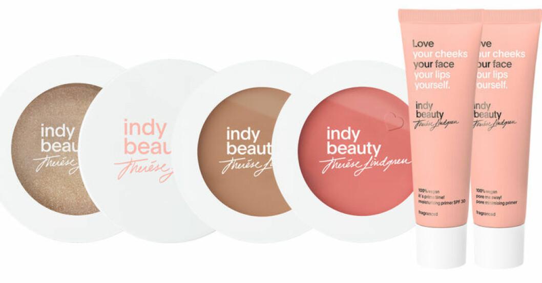 Smink som ger dig glow från Indy beauty