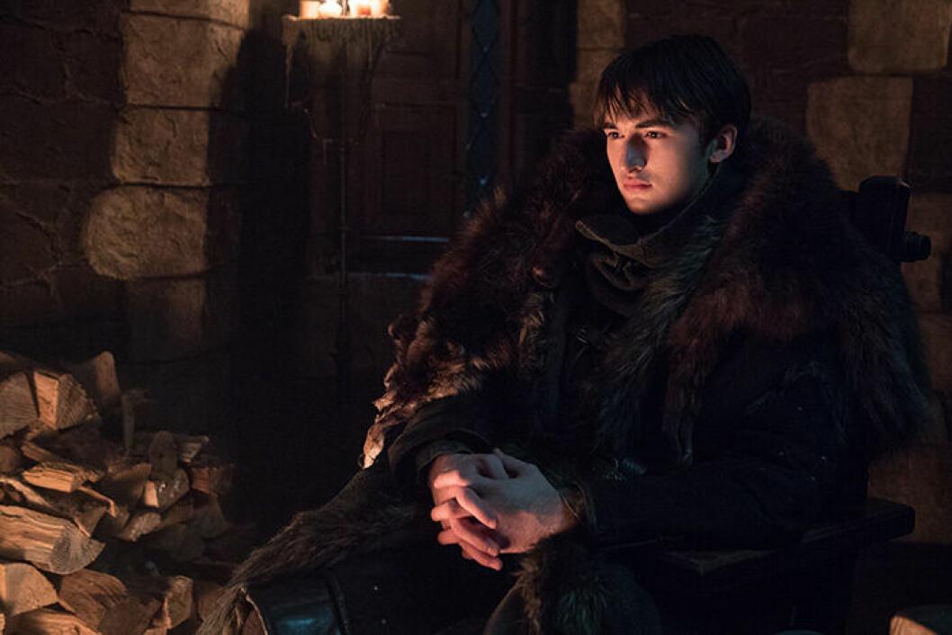 En bild på karaktären Bran Stark från tv-serien Game of Thrones.