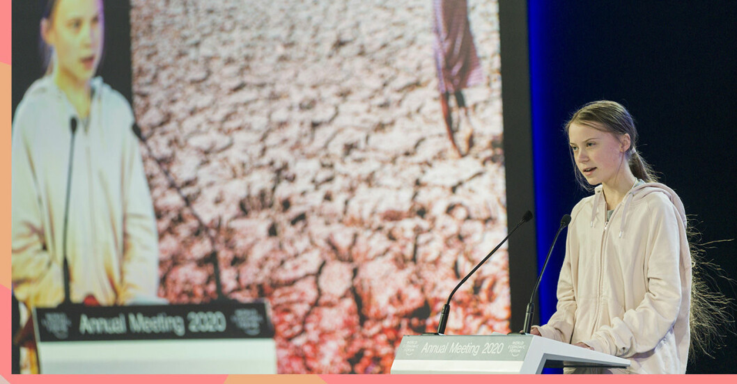 Greta Thunberg i Davos