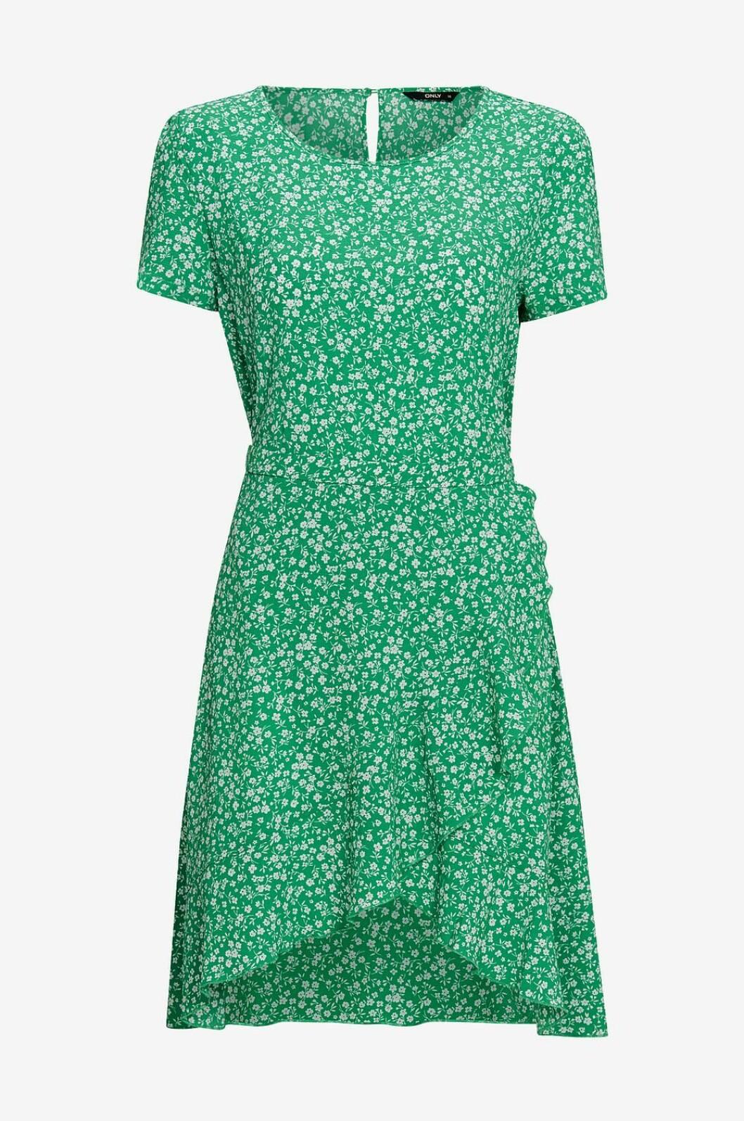 Grön klänning till skolavslutningen 2019