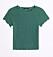 Grön t-shirt från Gina tricot