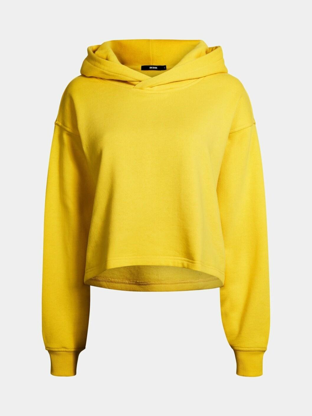 Gul hoodie till våren 2019