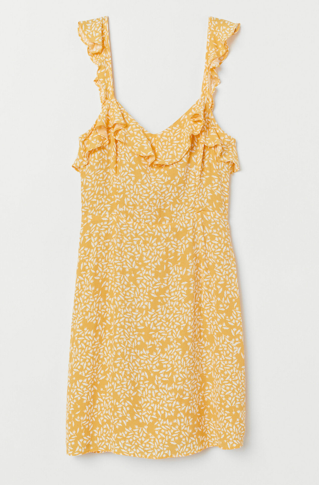 gul klänning till skolavslutningen 2019