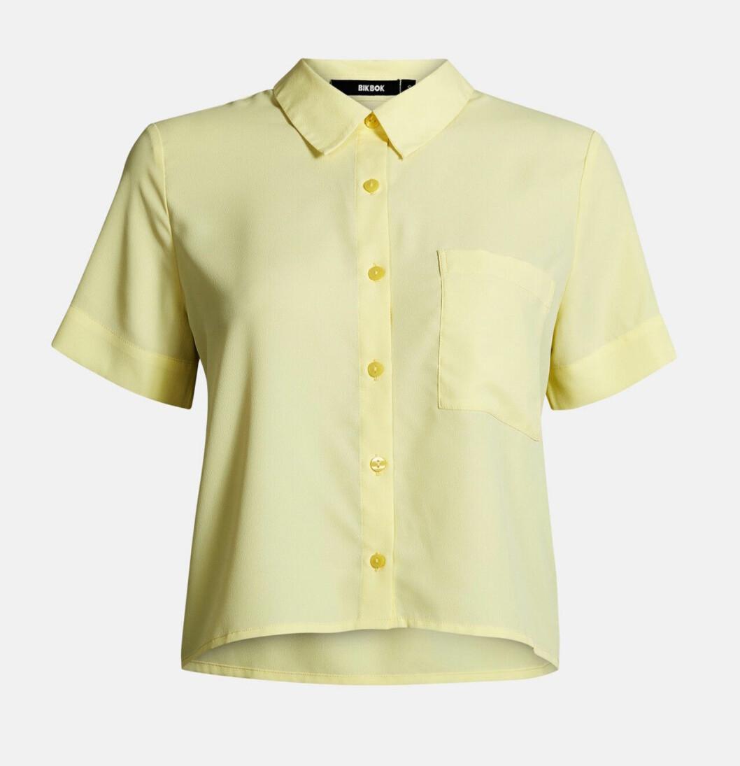 Gul skjorta för dam till 2019