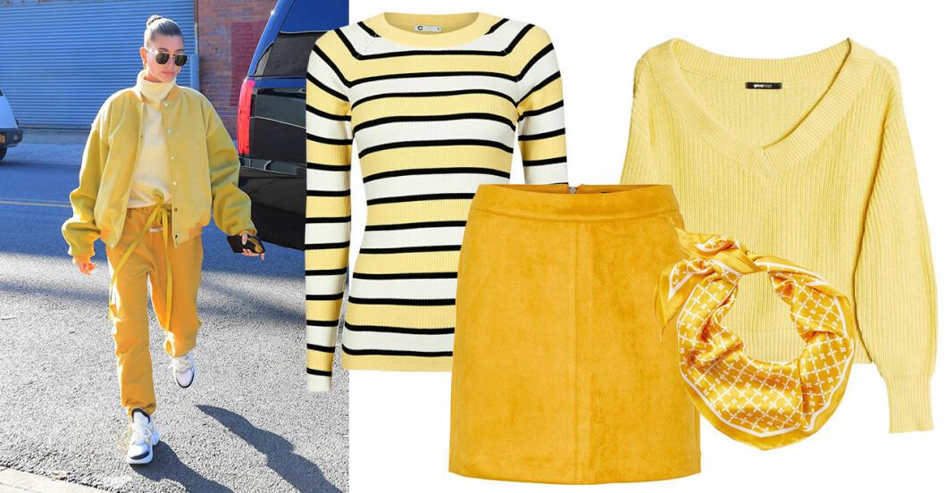 Gula kläder till våren 2019