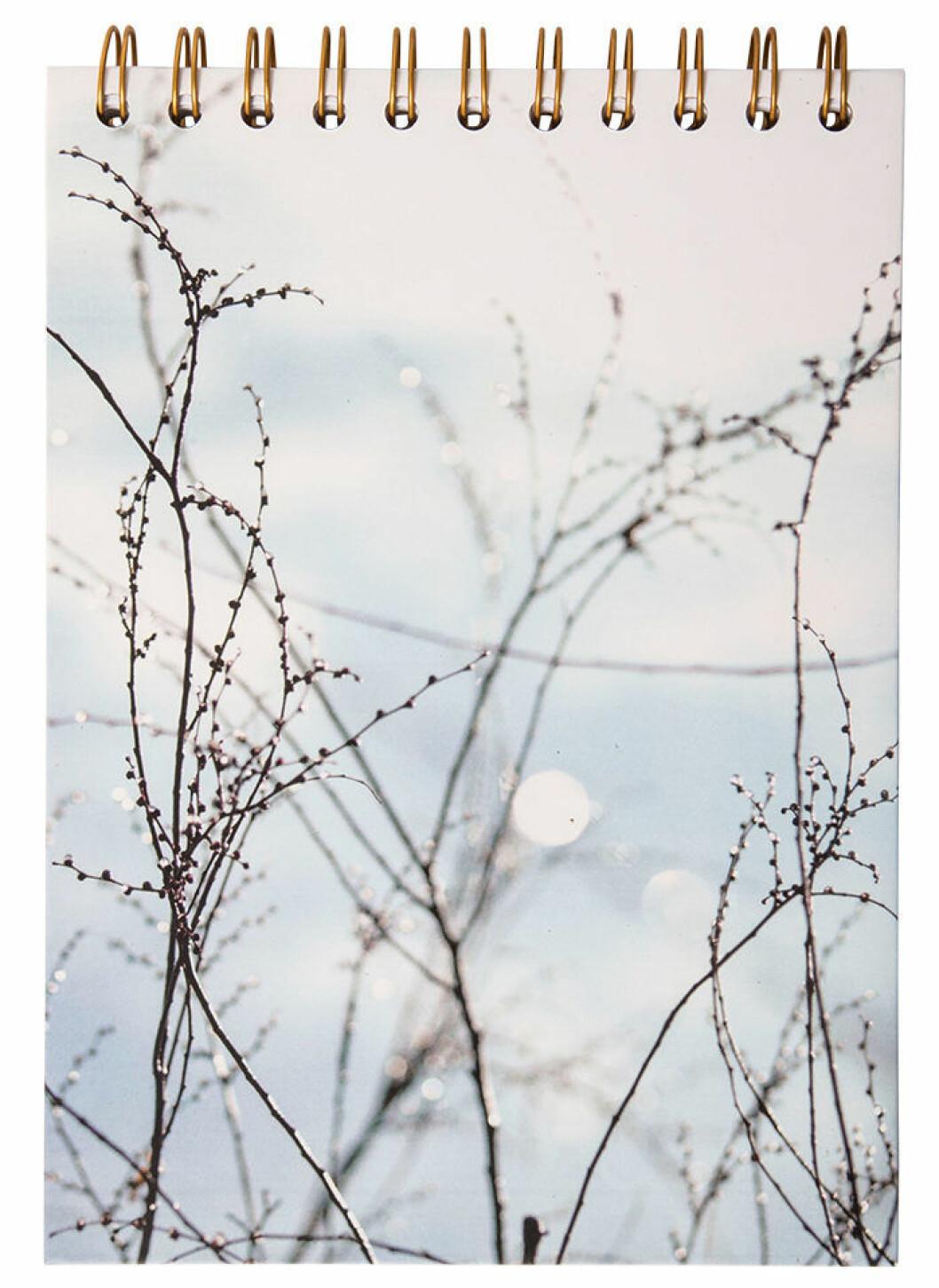 anteckningsbok i blått från Therese Lindgren + Lagerhaus