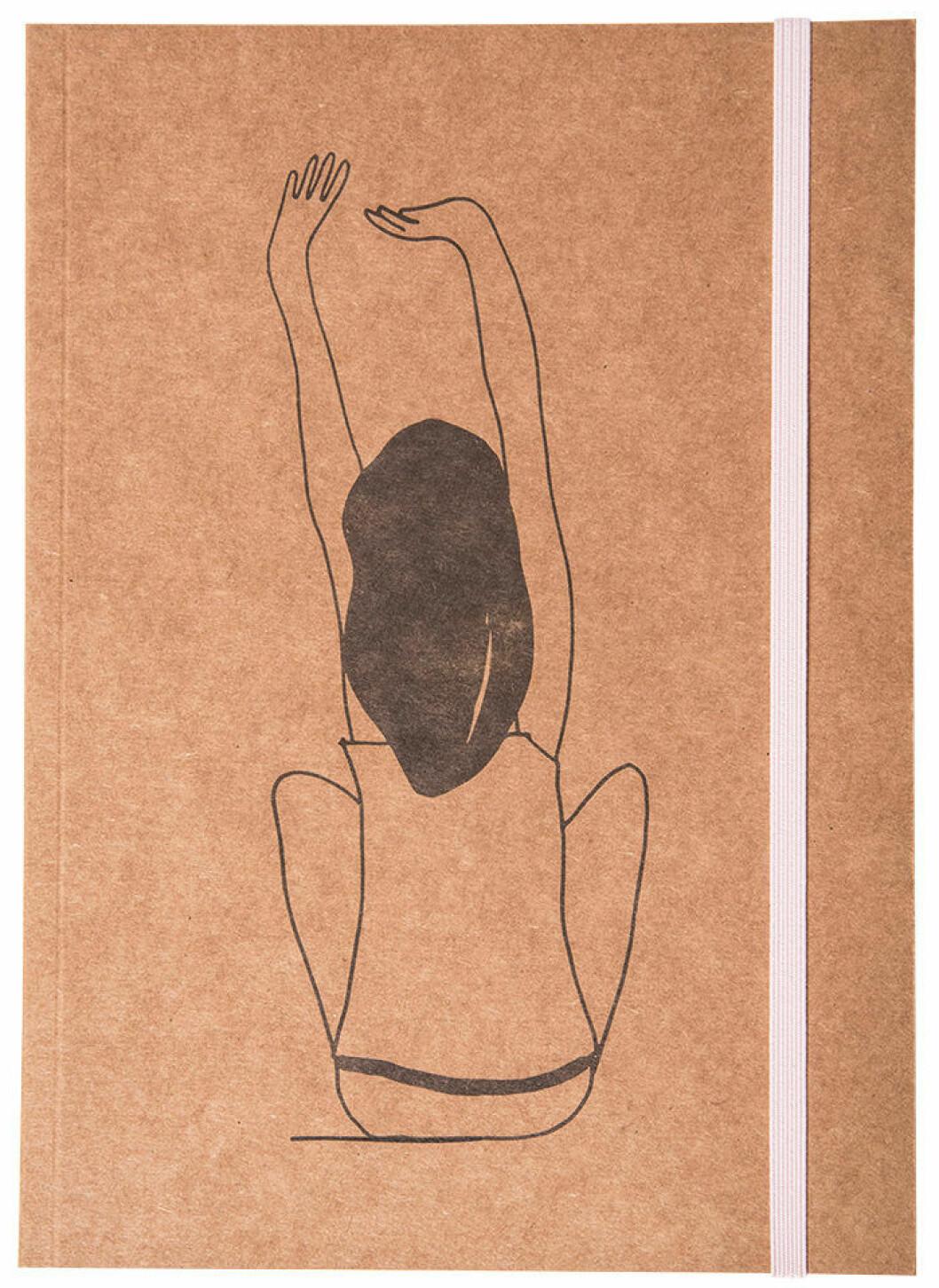 anteckningsbok från Therese Lindgren + Lagerhaus-kollektionen