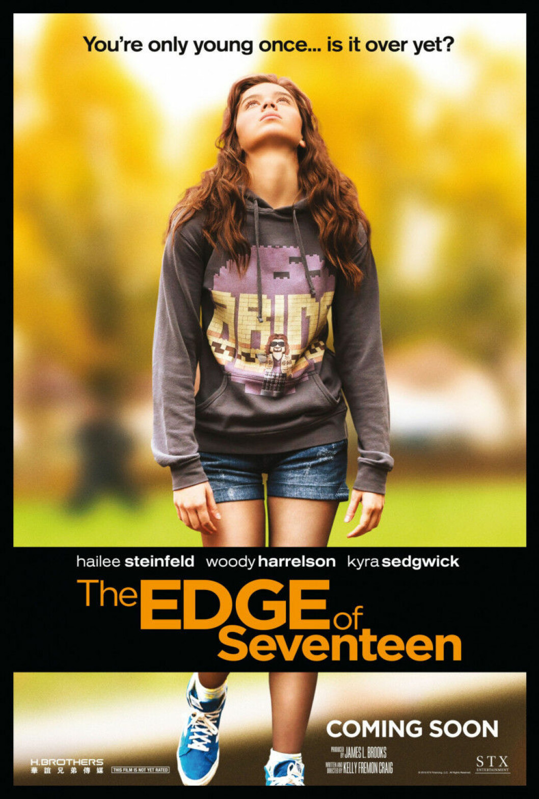Hailee Steinfeld är aktuell i filmen Edge of Seventeen.